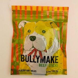 Bullymake Beef! Sticks! Healthy dog treats NWT